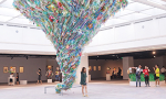 "Experience the unique ""Plastic Planet"" which is recycled from … plastic waste"